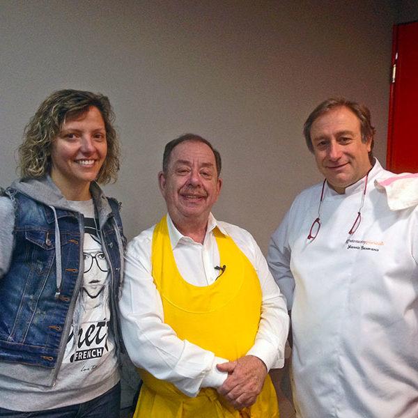 Ηλίας Μαμαλάκης και Ιωάννης Μπαξεβάνης από το σεμινάριο «μοντέρνα ελληνική δημιουργική κουζίνα» στις 3-5/2/2015.