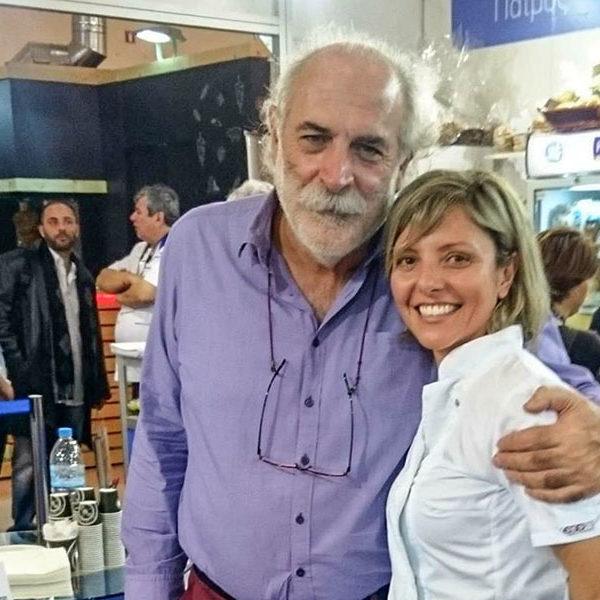 Γεώργιος Πίττας ελληνικό πρωινό με άρωμα Μυκόνου στην έκθεση HORECA 13-2-2016.